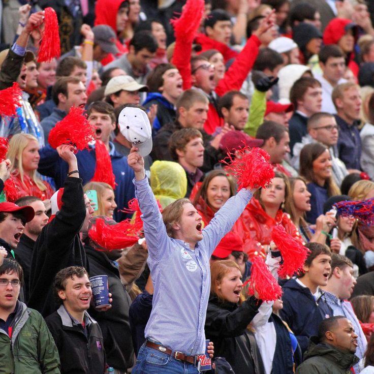 """Ole Miss and """"Hotty Toddy,"""" there just can't be one without the other.   It's one of many strong, proud traditions in the SEC..."""