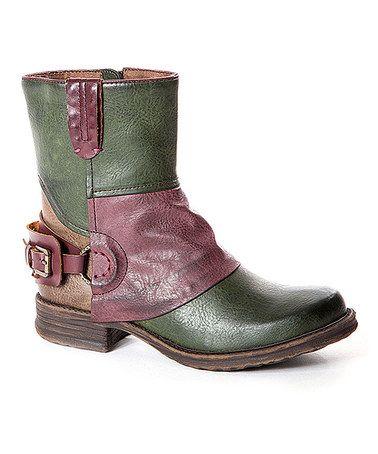 Look what I found on #zulily! Khaki Amanda Boot #zulilyfinds