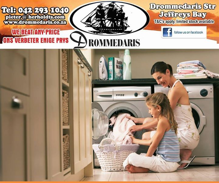 Simplify your #lifestyle with products that will improve your quality of life. Drommedaris have all the home appliances that you will need to save you money, time and frustration. Simply visit us in Jeffreys Bay and enjoy more free time in 2015. #homeimprovement #appliances