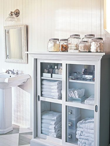 Master Bathroom Organizing Ideas: Best 25+ Narrow Bathroom Cabinet Ideas On Pinterest