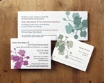 The Orchid Suite- Plantable $8.20 for 100 cards, plus reply cards & reply envelopes