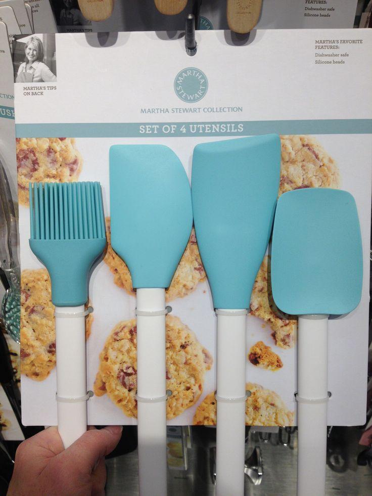 Martha Stewart Turquoise Kitchen Utensils From Macyu0027s
