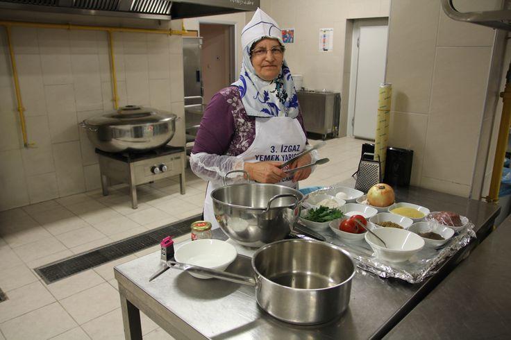 2013 Yemek Yarışması Finalisti Nurten Çakan