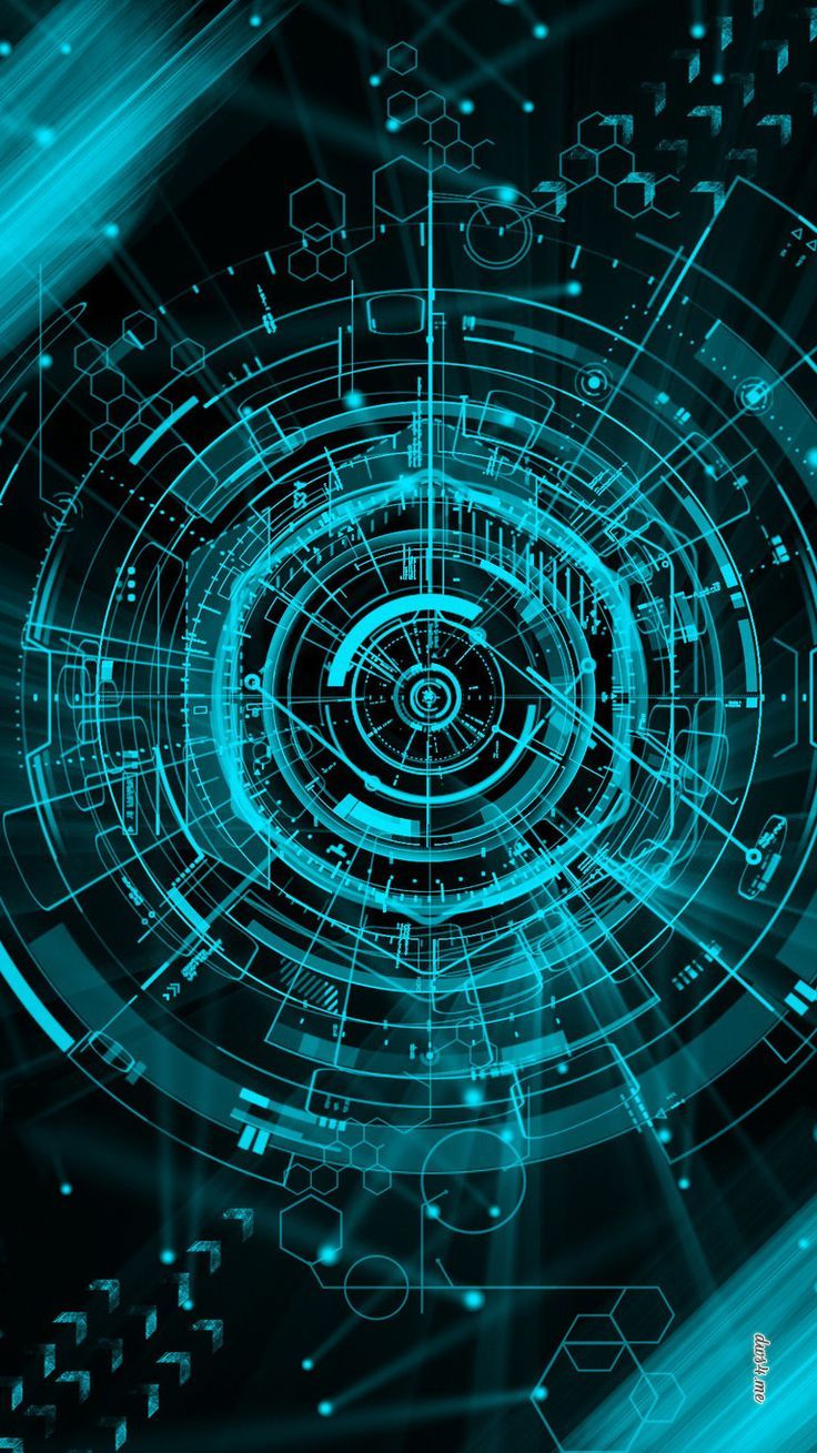 Tron: Legacy graphic. Circle expanded 3D – – #technology