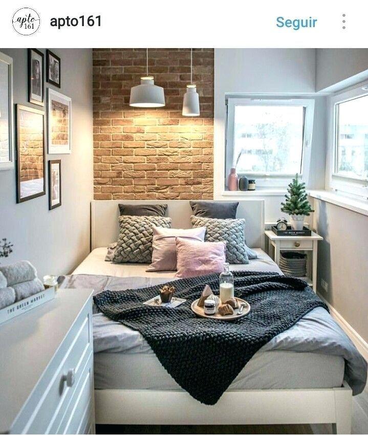 Very Small Guest Bedroom Idea Um Quarto Ma Interior Design Small