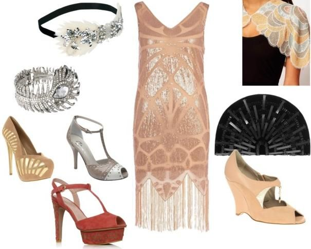 Gatsby Inspired Womens Shoes