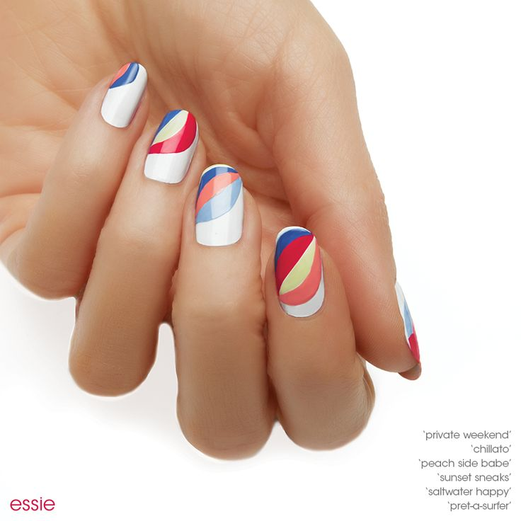 43 best Nail Art Using a Stripping Brush images on Pinterest | Nail ...