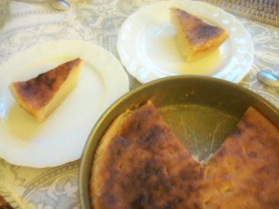 Gateau manioc au lait de coco