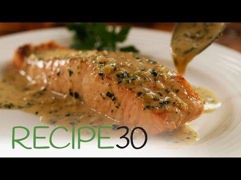 Salmon and single cream recipes