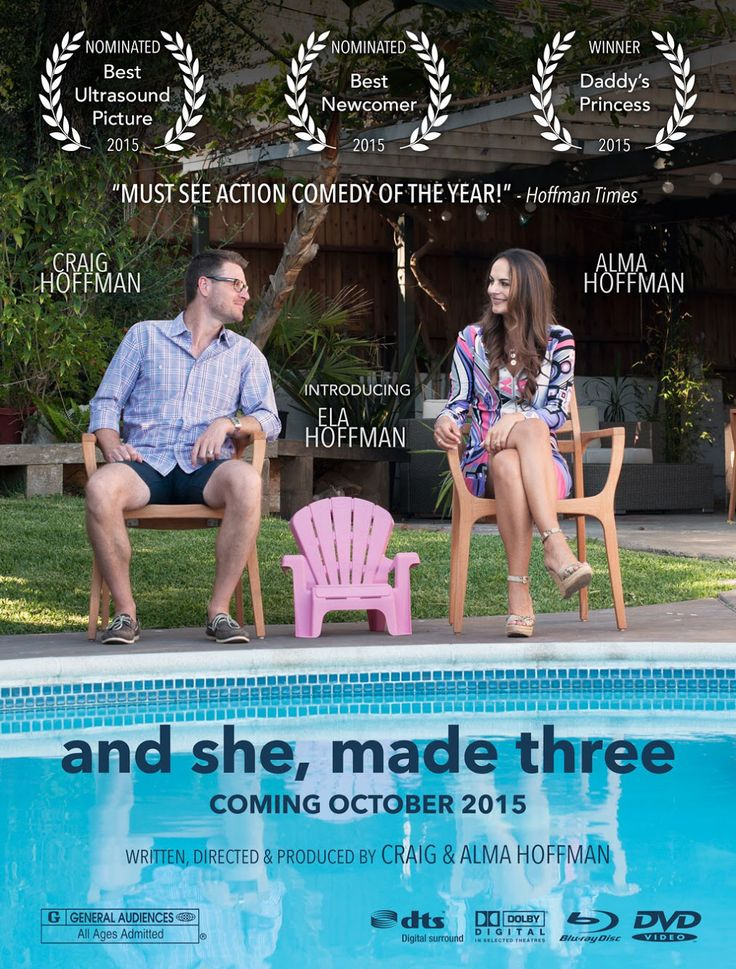 Baby announcement ideas- movie poster, it's a girl. #pregnancy #announcement