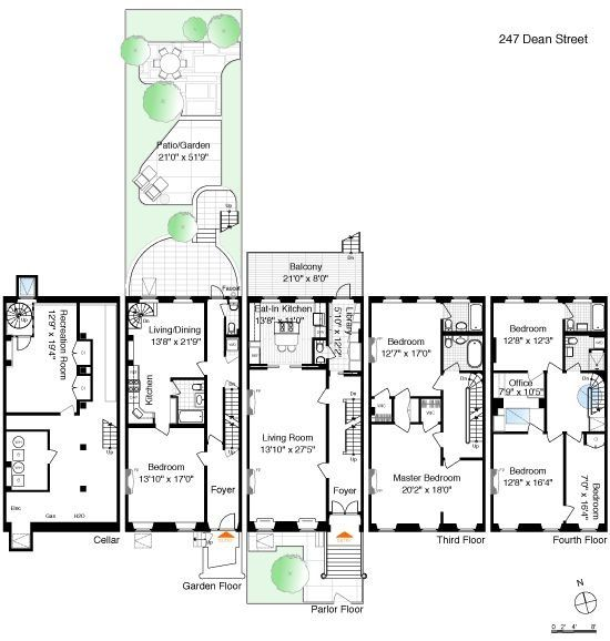 92 best townhouse floor plans images on pinterest for Large townhouse floor plans