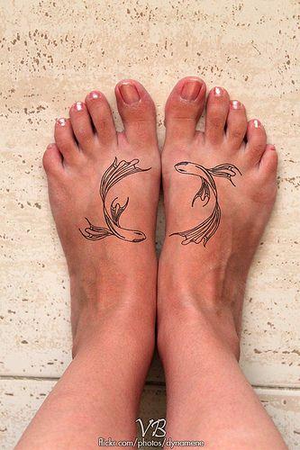 Pisces - love this tat