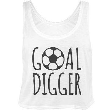 """Goal Digger Crop Top 