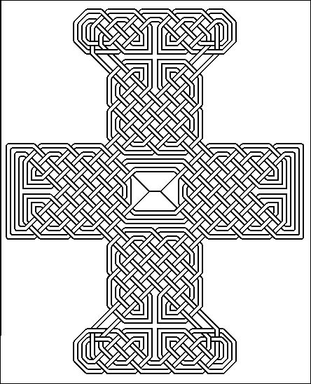 146 best images about drawing ribbons ropes knots for Book of kells coloring pages