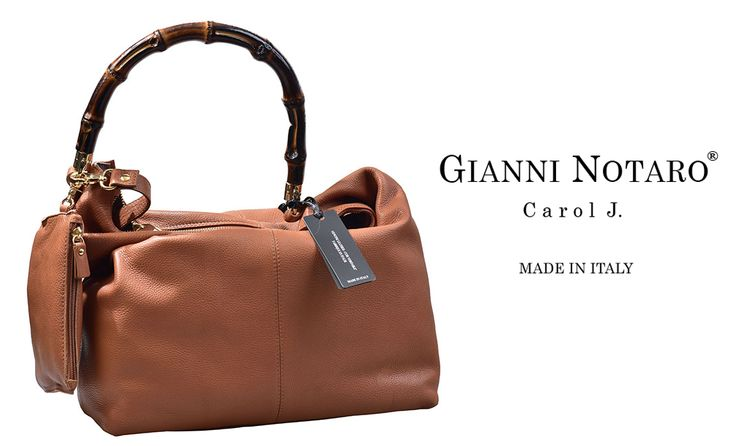 Wooden detail and leather design for the new Gianni Notaro handbag collection. Discover mor ein Galleria Di Scarpe.