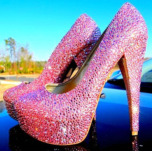 1000  images about Bling heels on Pinterest | It hurts
