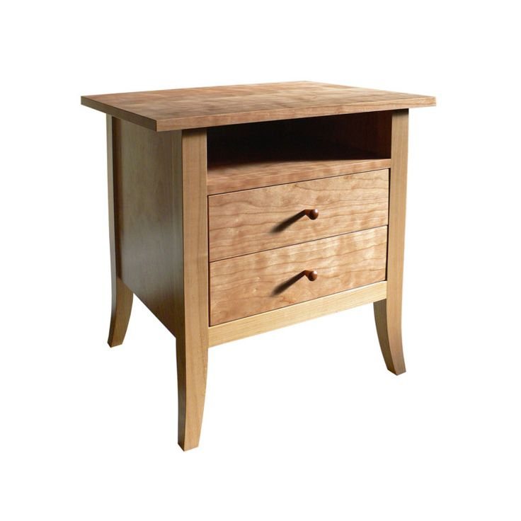 Cherry Bedside Table by Anton Gerner - bespoke contemporary furniture melbourne