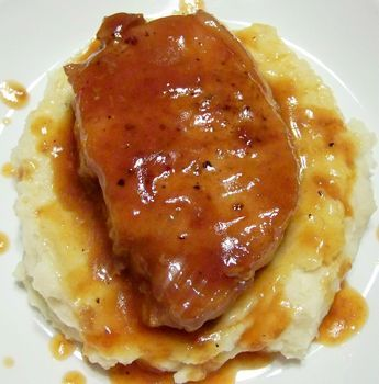 """Drunken Pork Chops 