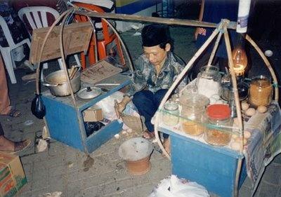 Indonesian Street Food Stall