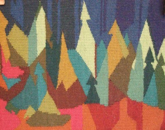Sueco vintage twist lana bosque  // Escandinavo por tiendanordica