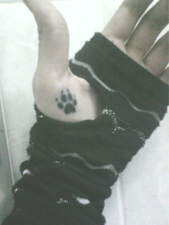 Wolf paw tattoo by HawkClawWarrior.deviantart.com on @deviantART