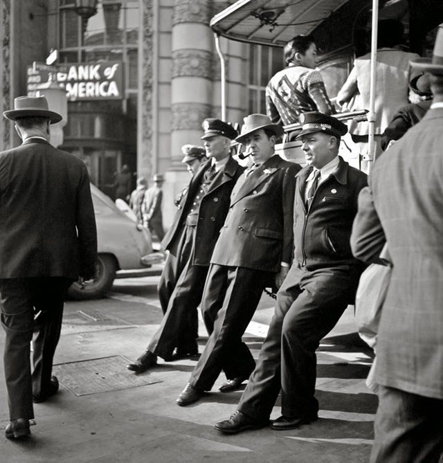 vintage everyday: Amazing Black & White Photographs of San Francisco from the 1940's-50's