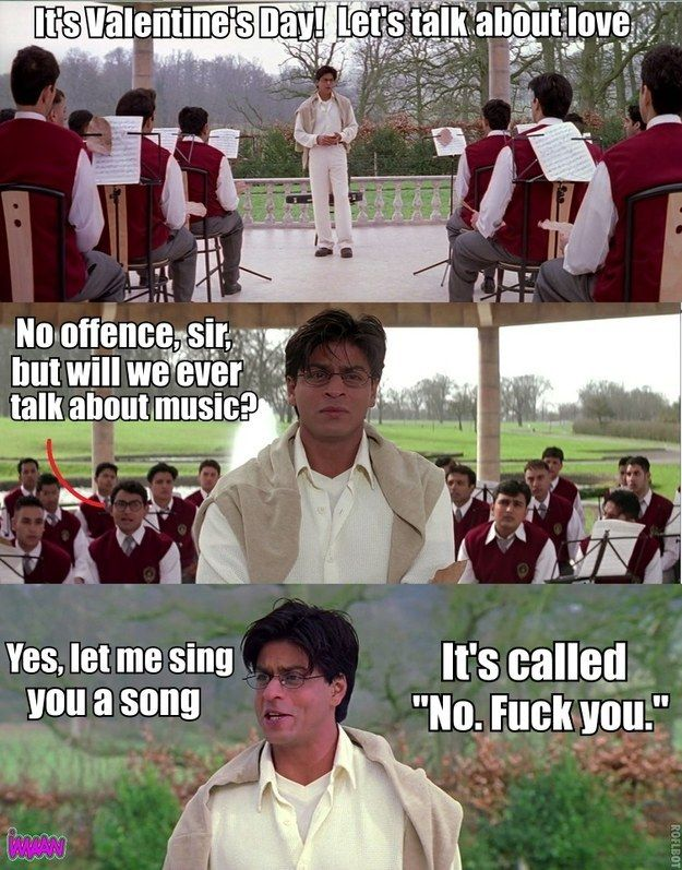 "Here Is An Accurate And Honest Summary Of Bollywood Classic ""Mohabbatein"""