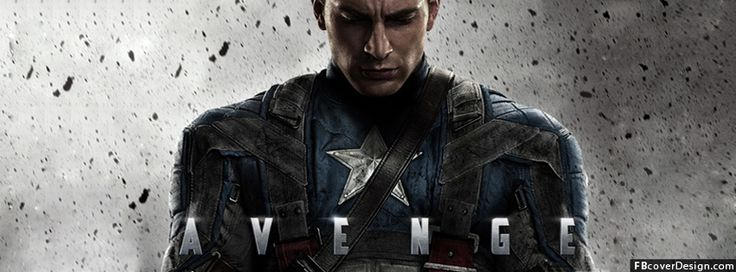 Captain America Facebook Covers Design | FBcoverdesign.com