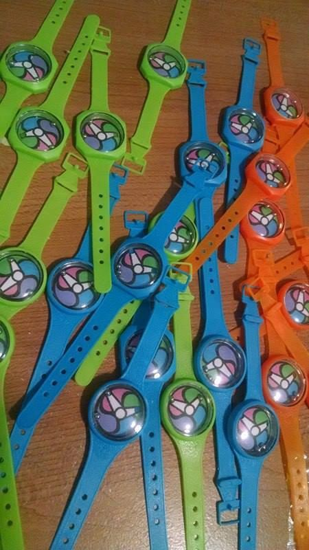 Yokai Watch Party Favor Watches 12 per bag by PartyAnimalzShop