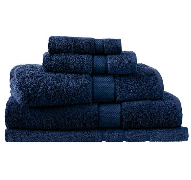 Sheridan Egyptian Luxury Bath Towel British Navy