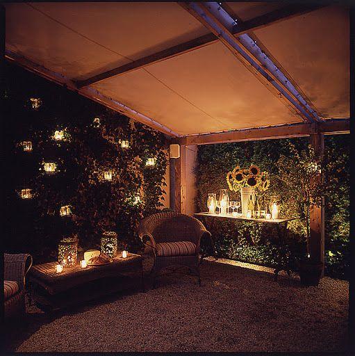 Outdoor Lighting Under Pergola: 17 Best Images About Garden On Pinterest