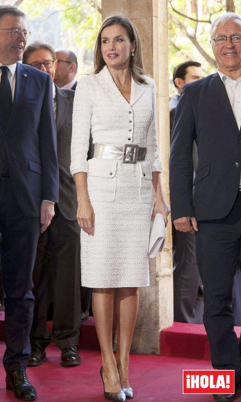 Doña Letizia preside, de nuevo en solitario, los premios Rey Jaime I