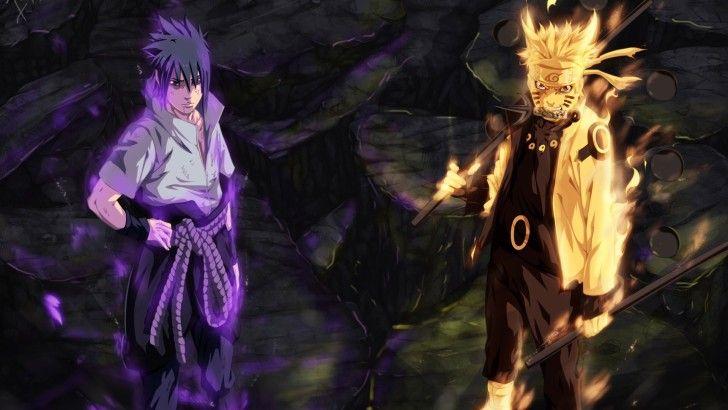 Sasuke And Naruto Six Path Sage Wallpaper With Images Naruto