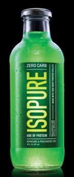 Isopure green apple