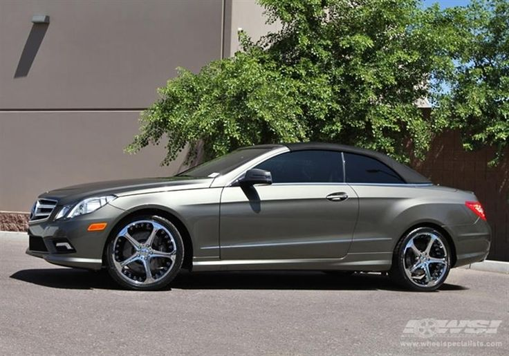 "2010 Mercedes-Benz E-Class Coupe with 20"" Giovanna Wheels by Wheel Specialists, Inc. in Tempe AZ . Click to view more photos and mod info."