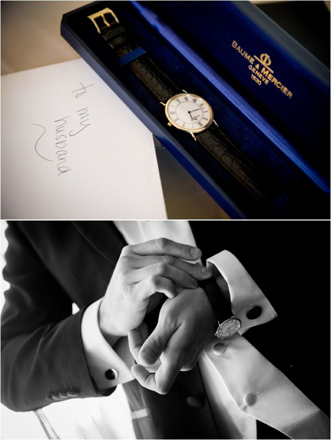 watch is the perfect gift for your husband the day of the wedding ...