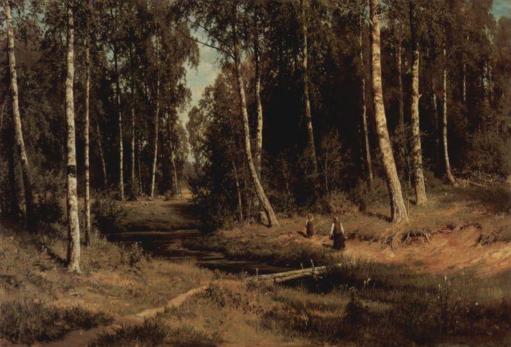 iwan-iwanowitsch-schischkin-bach-im-birkenwald-08911.jpg (2048×1394)