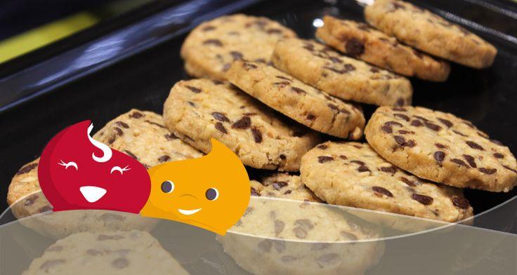 Dall'edizione 2015 del TuttoFood di Milano ci siamo portati a casa una ricetta dolcissima: i cookies di Nocciole.