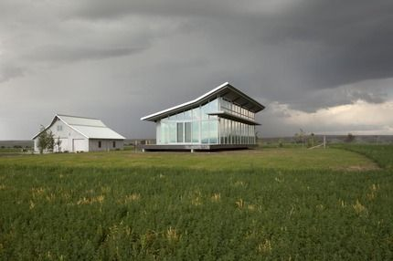 Olson Kundig Architects - Projects - Glass Farmhouse click and check out the ffe