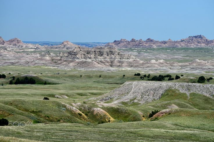 badlandspanorama - Badlands National Park, South Dakota
