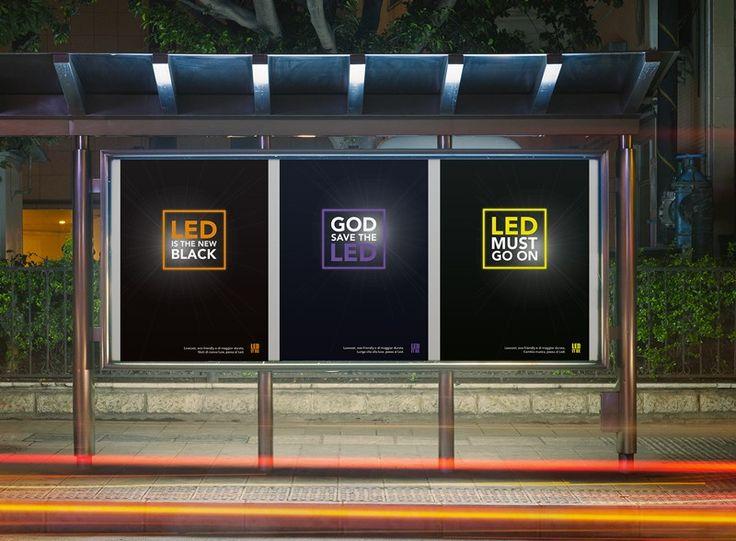 LED IT BE Campagna pubblicitaria multisoggetto realizzata per incentivare il pubblico all´installazione di luci Led - Gruppodi lavoro: Giovanna Marsilio, Ilaria Mauriello
