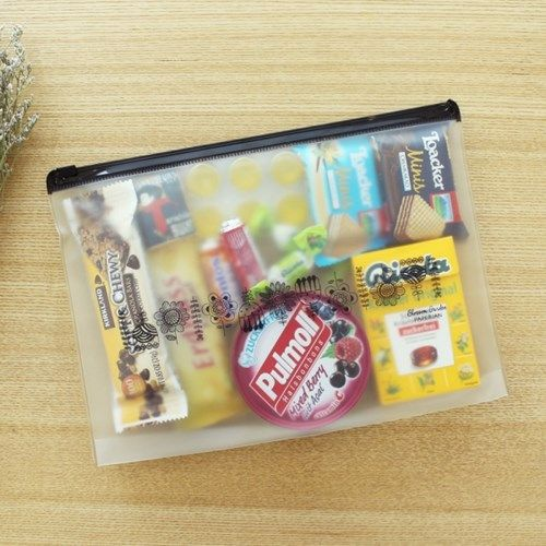 Good The Large Blossom Garden PVC Pouch is a well made and useful pouch