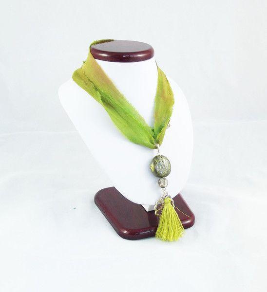 Jui - naszyjnik z sari - Pejotka - Naszyjniki