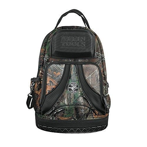 Klein Tools 55421BP14CAMO Tradesman Pro Organizer Backpack, Camo  This #Camo #Backpack features the Realtree AP-Xtra Camouflage Design, which blends perfectly year-round in a variety of habitats, and looks great on the jobsite too. Has tons of pockets to organize your tools to make your job easier.