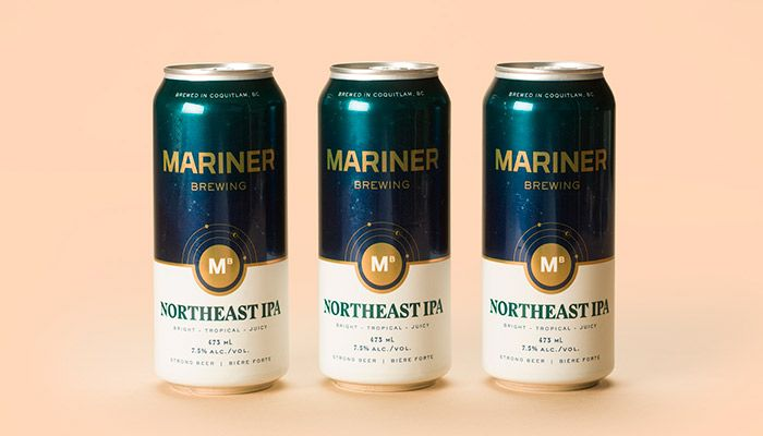 Mariner Brewing Branding by Glasfurd and Walker. This article is part of the Daily Inspiration from HeyDesign. We bring you interesting content by designers, artists and photographers from around the world who pursue their passion and create magnificent artwork. We want to share high-quality designs to inspire your day and help you in your creative process. | HeyDesign.com