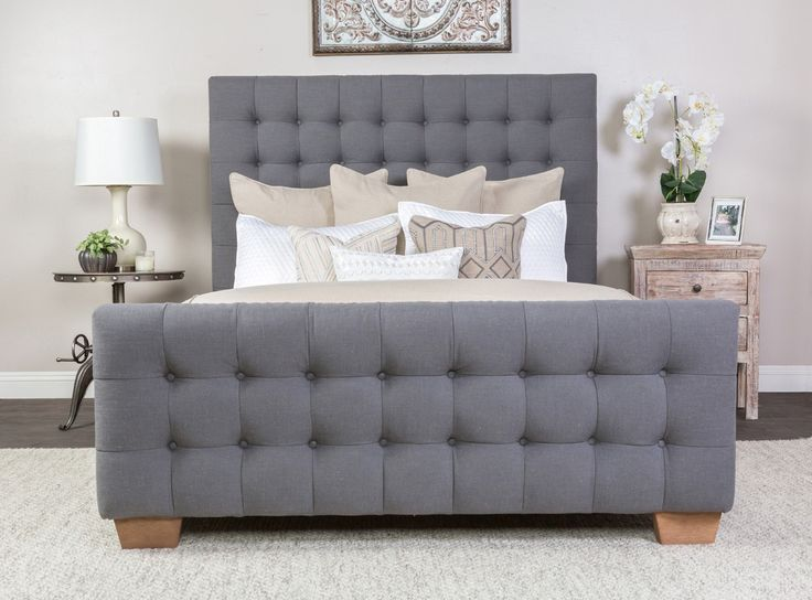 Wayfair Tufted Headboard Bedding Bedroom Transitional With: Pinterest • The World's Catalog Of Ideas