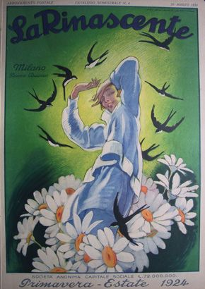 catalogo primavera estate 1924