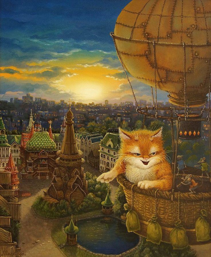 Сказочки кота Кузьмы... Маскаев Александр.