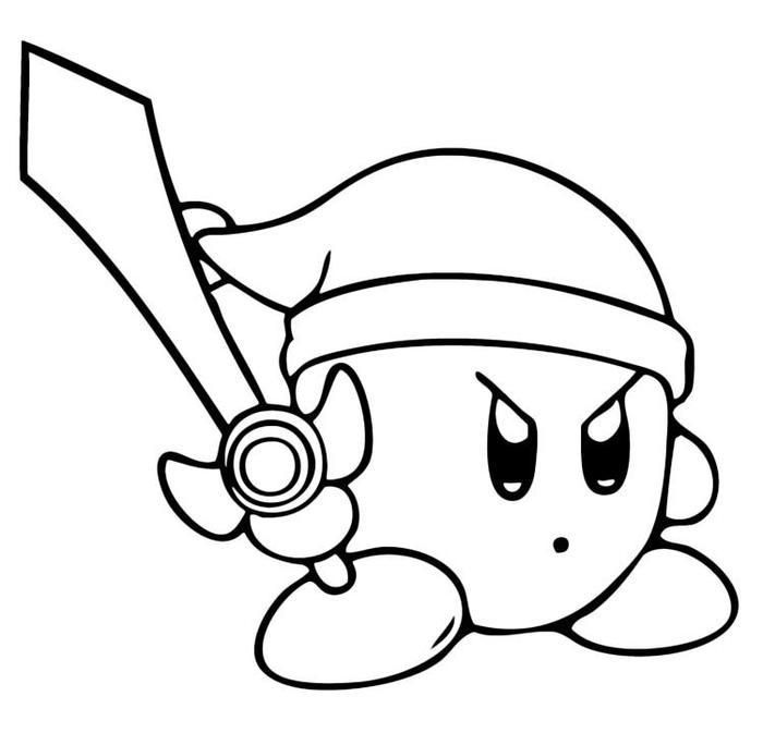Nintendo Kirby Coloring Pages Coloring Pages Animal Coloring Pages Fathers Day Coloring Page