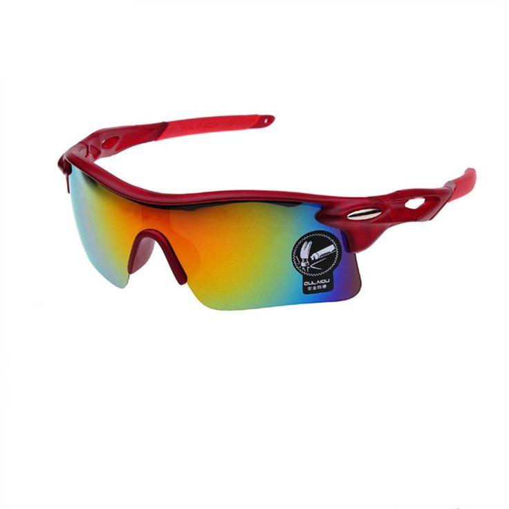 12 Colors Men UV400 Sport Glasses Oversized Sport Sunglasses Women Male Outdoor Sports Driving Sun Glasses Night Vision Goggles